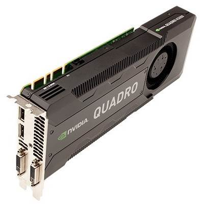 PNY NVIDIA Quadro K5000 MAC VCQK5000MAC-PB 4GB GDDR5 PCI Express 2.0 x16 Workstation Video Card