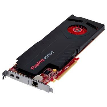 AMD FirePro R5000 100-505855 (100-505688) 2GB GDDR5 PCI Express 3.0 x16 Workstation Graphics Card