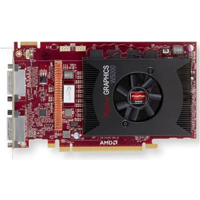 AMD FirePro W5000 DVI 100-505838 (100-505792) 2GB GDDR5 PCI Express 3.0 x16 Workstation Graphics Card