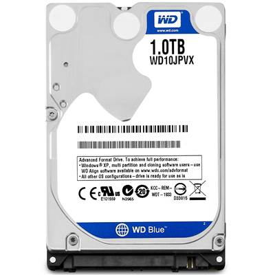 "Western Digital Blue WD10JPVX 1TB 2.5"" SATA 6.0Gb / s Hard Drive"