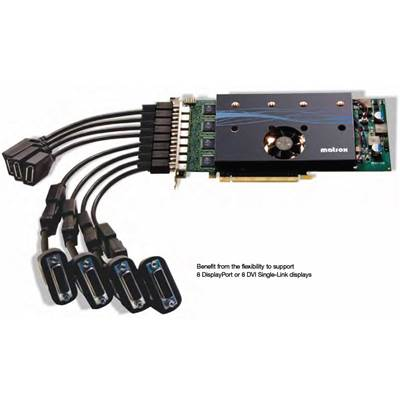 Matrox M9188-E2048F 2GB PCI Express x16 Multi-Display Octal Graphics Card