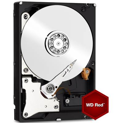 "Western Digital Red WD40EFRX 4TB 3.5"" SATA 6.0Gb / s NAS Hard Drive"