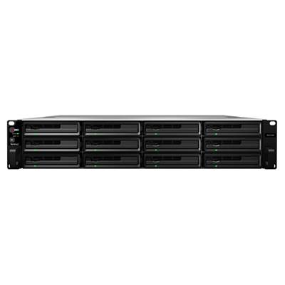 Synology RX1214RP 12-Bay Storage Expansion Unit for RackStation w /  Redundant Power Supplies