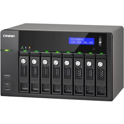 QNAP TS-870 Pro 8-bay Customizable Turbo NAS