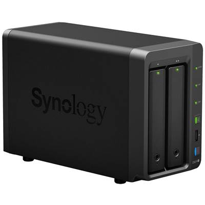 Synology DS214+ 2-bay DiskStation NAS