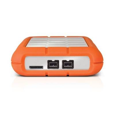 LaCie Rugged Triple 9000448 2TB USB 3.0  /  2.0  /  Firewire 800 Portable Drive