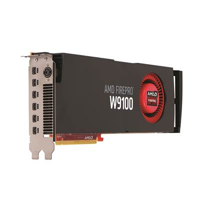 AMD FirePro W9100 100-505725 16GB GDDR5 PCI Express 3.0 x16 Workstation Graphics Card