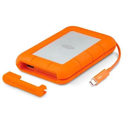 LaCie Rugged Thunderbolt 9000491 500GB SSD USB 3.0  /  Thunderbolt Portable Drive