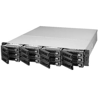 QNAP TS-EC1280U-RP 12-bay 2U Rackmount Customizable NAS
