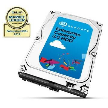 "Seagate Enterprise Capacity ST4000NM0024 4TB 3.5"" SATA 6Gb / s Hard Drive"