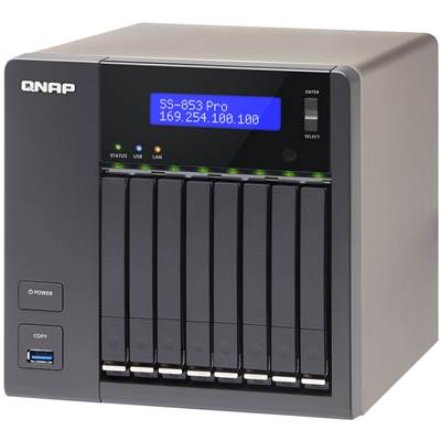 QNAP SS-853-PRO 8-bay Customizable NAS