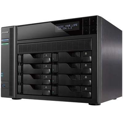 ASUSTOR AS7008T 8-bay NAS