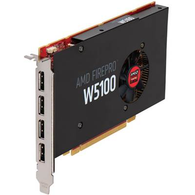 AMD FirePro W5100 100-505737 4GB GDDR5 PCI Express 3.0 x16 Workstation Video Card