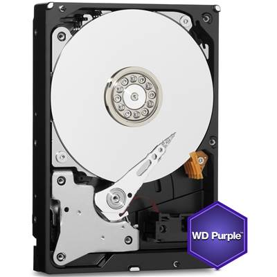 "Western Digital Purple WD60PURX 6TB 3.5"" SATA 6.0Gb / s Hard Drive"
