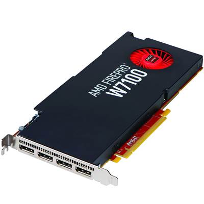 AMD FirePro W7100 100-505724 8GB GDDR5 PCI Express 3.0 x16 Workstation Graphics Card