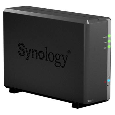 Synology DS115 1-Bay DiskStation NAS