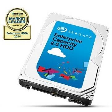 "Seagate Enterprise Capacity 2.5 HDD ST2000NX0253 2TB 2.5"" SATA 6Gb / s Hard Drive - 512 Emulation"
