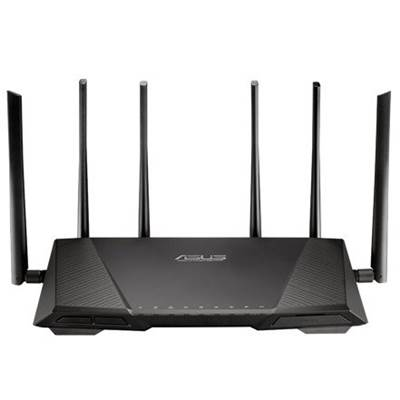 ASUS RT-AC3200 802.11ac Tri-Band Wireless-AC3200 Gigabit Router