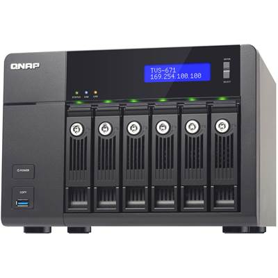 QNAP TVS-671-PT-4G 6-bay Customizable Turbo NAS
