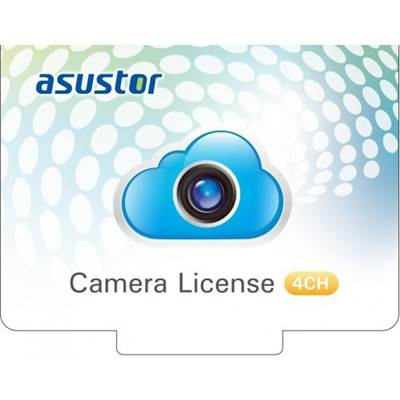 ASUSTOR AS-SCL04 4CH Camera License for all models