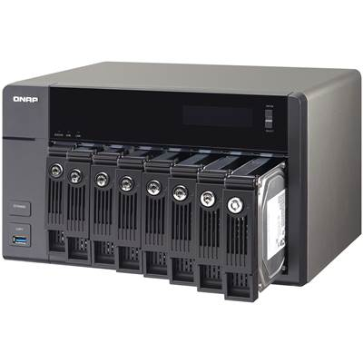QNAP TVS-871-i3-4G 8-bay Customizable Turbo NAS