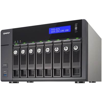 QNAP TVS-871-i5-8G 8-bay Customizable Turbo NAS