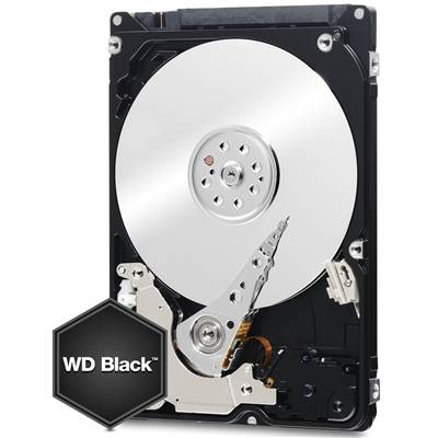 "Western Digital Black WD2500LPLX 250GB 2.5"" SATA 6.0Gb / s Hard Drive"
