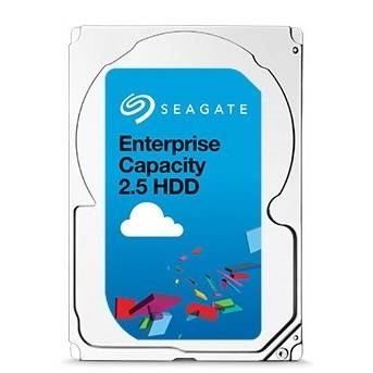 "Seagate Enterprise Capacity 2.5 HDD ST1000NX0323 1TB 2.5"" 12Gb / s SAS Hard Drive - 4K Native"