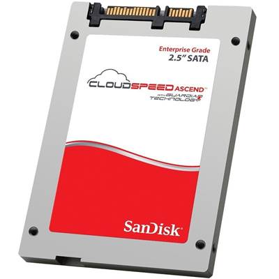 "SanDisk CloudSpeed Ascend SDLFOEAR-120G-1HA1 2.5"" 120GB SATA III Internal Solid State Drive (SSD)"
