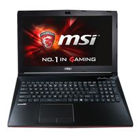 "MSI GP62 Leopard Pro-002 15.6"" Gaming Laptop"