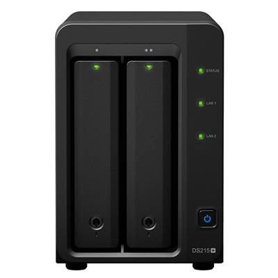 Synology DS215+ 2-bay DiskStation NAS