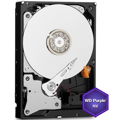 "Western Digital Purple NV WD6NPURX 6TB 3.5"" SATA 6.0Gb / s Hard Drive"