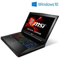 "MSI GT72 Dominator G-1668 (Windows 10) 17.3"" Gaming Laptop w  /  NVIDIA G-SYNC"