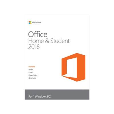 Microsoft Office Home and Student 2016 Product Key Card for 1 PC (Word  /  Excel  /  PowerPoint  /  OneNote)