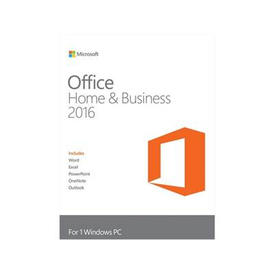 Microsoft Office Home and Business 2016 Product Key Card for 1 PC (Outlook  /  Word  /  Excel  /  PowerPoint  /  OneNote)
