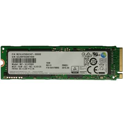 Samsung PM951 MZVLV256HCHP-00000 256GB PCI Express 3.0 x4 (M.2 2280) 80mm Internal Solid State Drive (SSD)