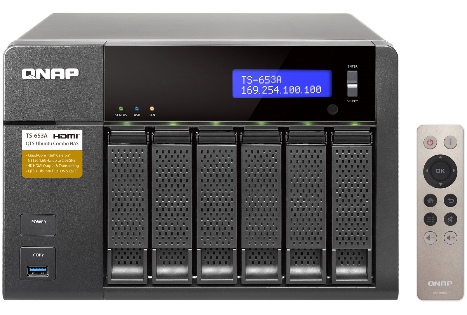 Qnap ts 653a 8g 6 bay professional grade nas 1betcityfo Image collections