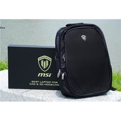 MSI Hardshell Backpack for WT Workstation (Not for sale)