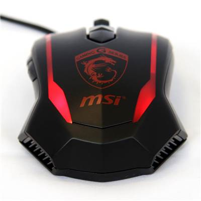 MSI Super Genius Gaming Mouse (Dragon Edition) (Not for sale)