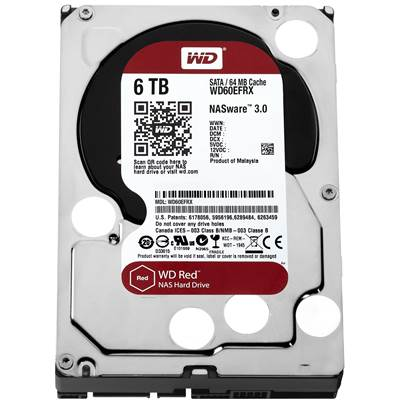 "Western Digital Red WD80EFZX 8TB 3.5"" SATA 6.0Gb / s NAS Hard Drive"
