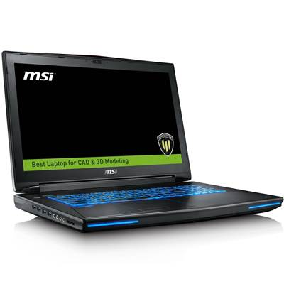 "MSI WT72 6QN-218US 17.3"" UHD 4K IPS Workstation Laptop  /  NVIDIA Quadro M5000 8GB GDDR5 (Skylake Core i7-6920HQ  /  Desktop Class GPU  /  VR-Ready)"