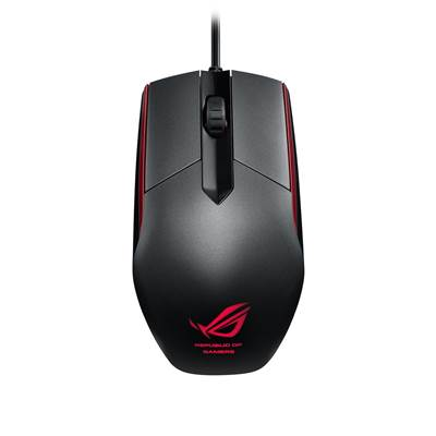 ASUS ROG Sica Gaming Mouse (Upgraded Omron Switches & LED Illumination)