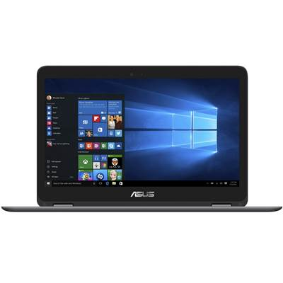 "ASUS ZenBook Flip UX360CA-DBM2T 13.3"" Touchscreen Laptop - Gray (Skylake)"