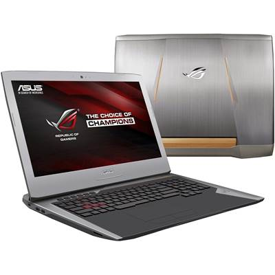 "ASUS G752VM-RB71 17.3"" G-Sync Full HD ROG Laptop w /  GTX 1060 6GB GDDR5 (Skylake)"