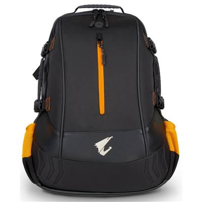 AORUS B7R Premium Gaming Backpack - Black / Orange