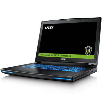 "MSI WT72 6QK(vPro)-003US 17.3"" Full HD IPS Workstation Laptop  /  NVIDIA Quadro M3000M 4GB GDDR5 (Skylake) - vPro Ready"