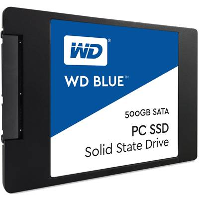 "500GB Western Digital Blue 2.5"" SATA SSD"