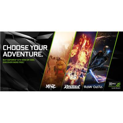 NVIDIA MAIZE, REDOUT, OR RAW DATA Game Code (Choose Your Indie Game) - Digital Game Code