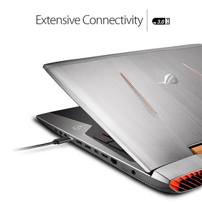 "ASUS ROG G752VS-XS74K 17.3"" 120Hz G-Sync Full HD Gaming Laptop w /  Overclocked GTX 1070 8GB GDDR5 (Kabylake Core i7-7820HK Unlocked)"