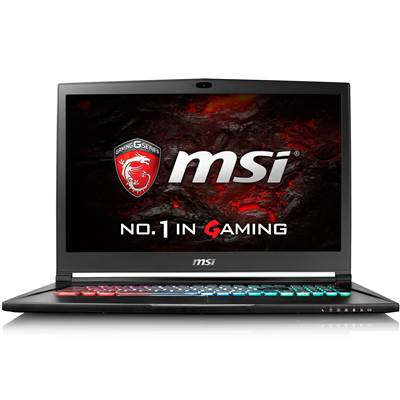 "MSI GS73VR STEALTH PRO-225 17.3"" 120Hz (5ms) Full HD Ultra Gaming Laptop w /  GTX 1060 6GB - Microsoft Signature Edition (Kabylake)"